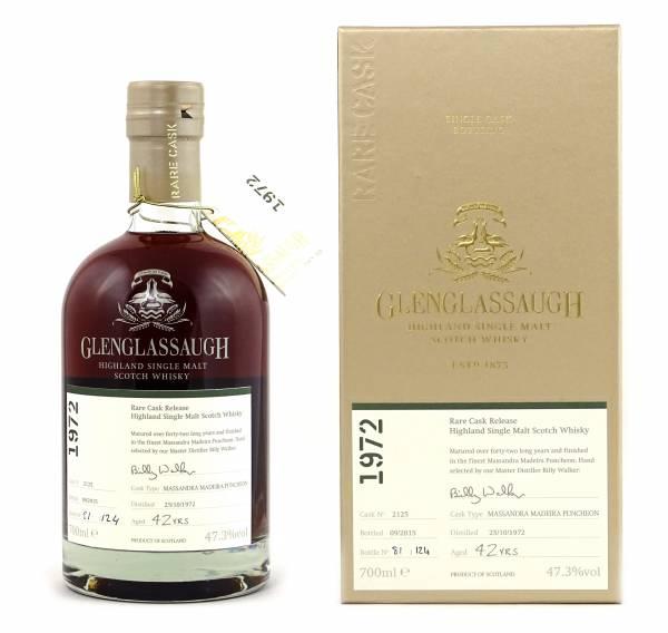 Glenglassaugh 42 Jahre 1972 #2125 Rare Cask 0,7 Liter