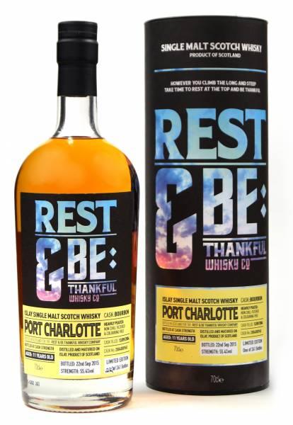 Port Charlotte 11 Jahre 2004 Bourbon 55,4% Rest & Be 0,7 Liter