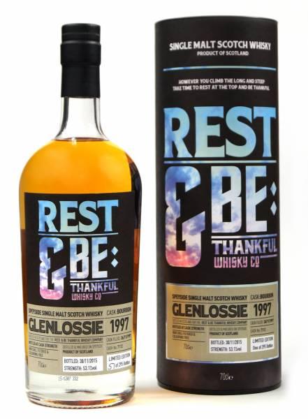 Glenlossie 18 Jahre 1997 Bourbon #7112 Rest & Be 0,7 Liter