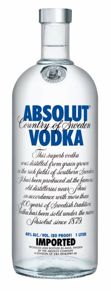 Absolut Vodka Blue 4,5 Liter