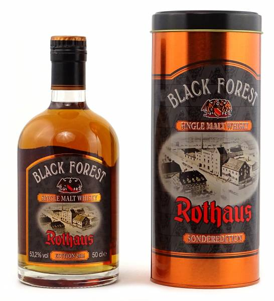 Rothaus Black Forest Whisky Sherry Cask Finish Edition 2016 0,5l