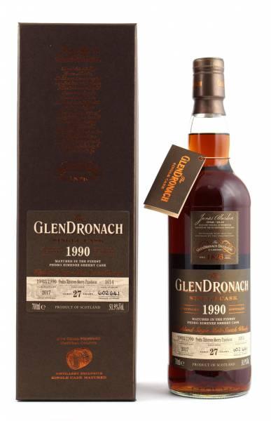 GlenDronach 1990 #1014 27 Jahre Batch 16 0,7l