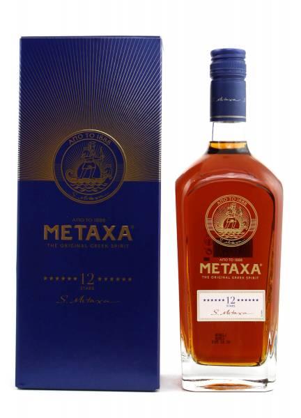 Metaxa 12 Sterne 0,7l in Geschenkverpackung