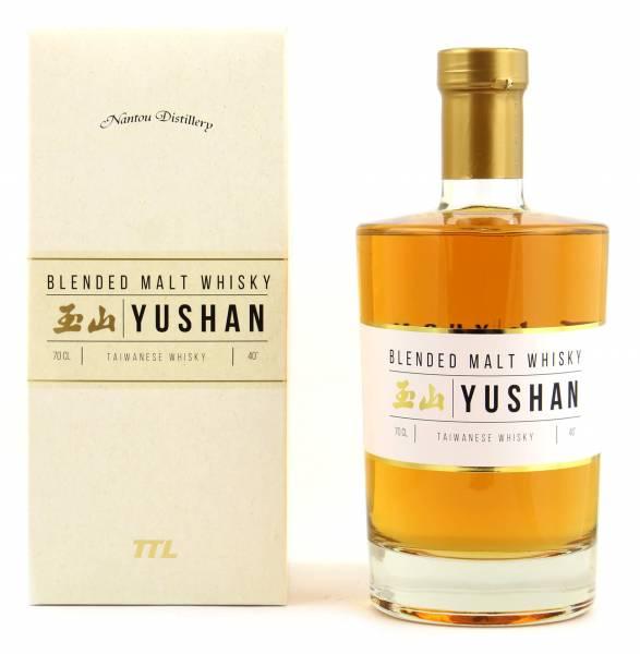 Yushan Taiwan Blended Malt Whisky 0,7l