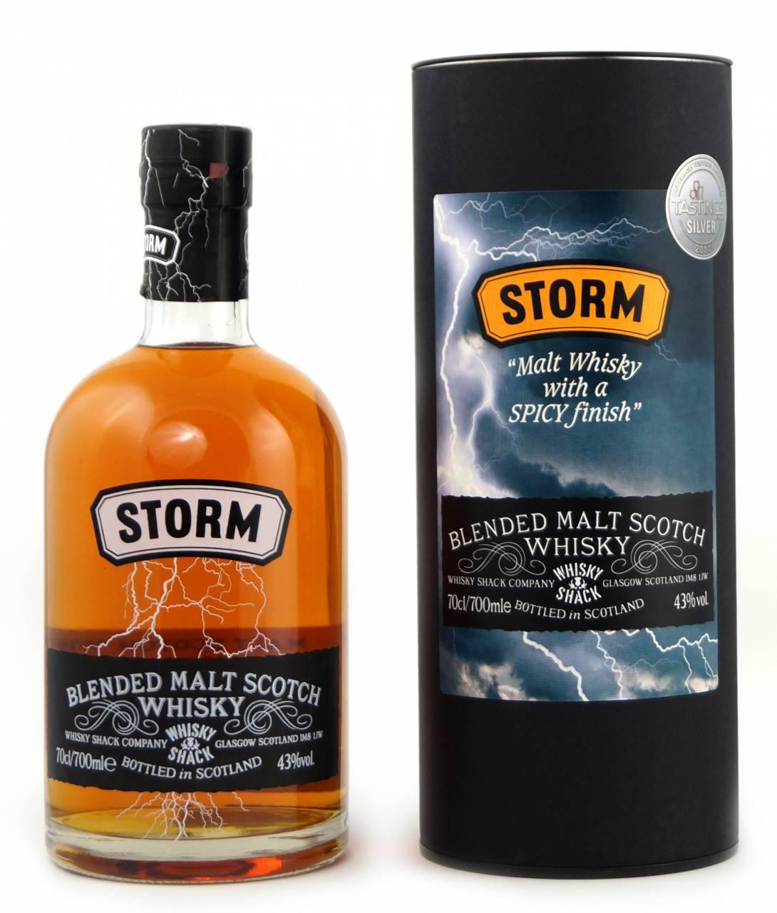 Lombard Storm Blended Malt Whisky 0,7 Liter