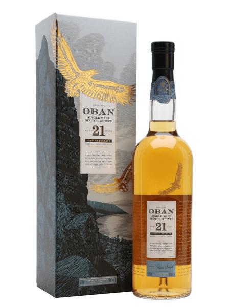 Oban 21 Jahre - Special Release 2018 0,7 Liter