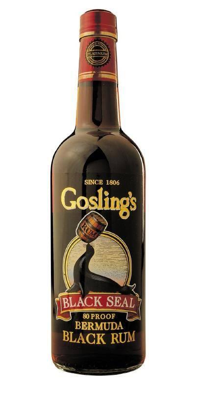 Goslings Black Seal Dark Rum 0,7 Liter