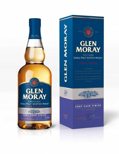 Glen Moray Elgin Classic Port Cask Finish 0,7 Liter