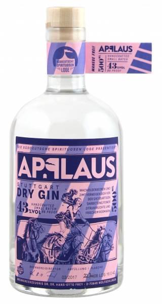 Applaus Stuttgart Dry Gin 0,5l