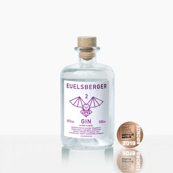 Euelsberger Gin #2 Fifteen Flowers 0,5 Liter