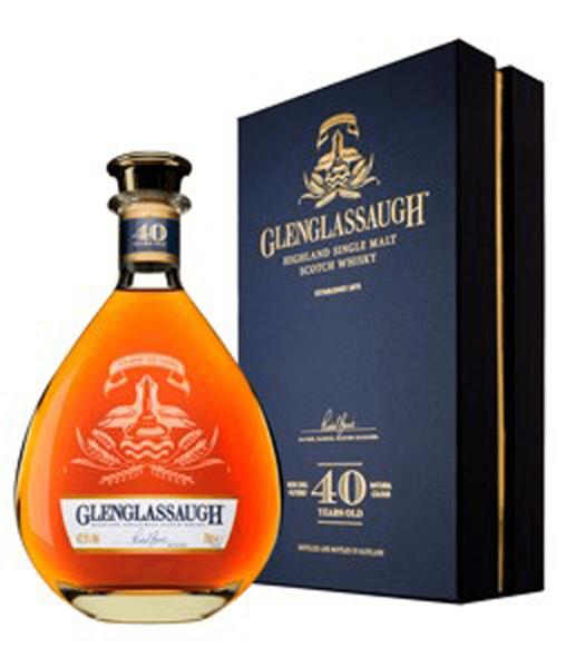 Glenglassaugh 40 Jahre 0,7 Liter