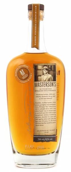 Masterson's 10 Jahre French Oak Finish 0,7l