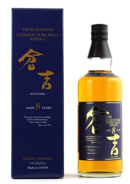 The Kurayoshi 8 Jahre Pure Malt Whisky 0,7l