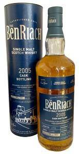 BenRiach Single Cask 2005 #6713 13 Jahre 0,7 Liter