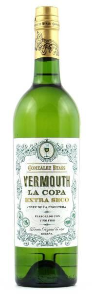 Vermouth La Copa Extra Seco Gonzalez Byass 0,75l