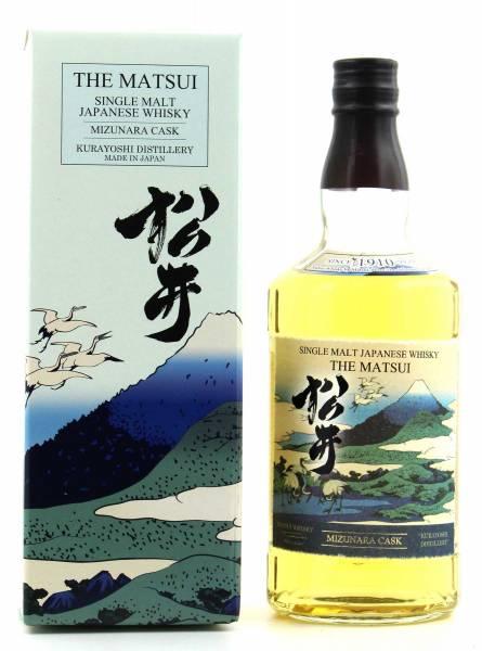 The Matsui Mizunara Cask Whisky 0,7l