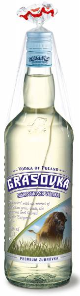 Grasovka Büffelgras Vodka 1l