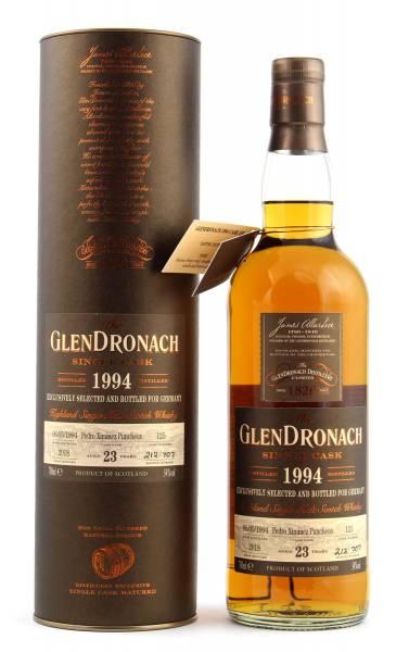 GlenDronach 23 Jahre 1994 Cask #125 PX Puncheon 0,7l