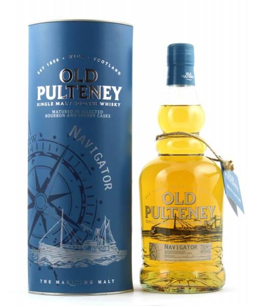 Old Pulteney Navigator Single Malt Whisky 0,7l