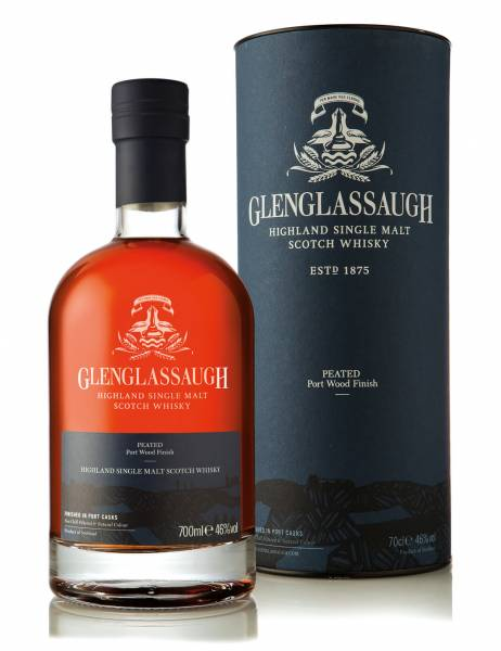 Glenglassaugh Peated Port Wood Finish Herstellerabbildung