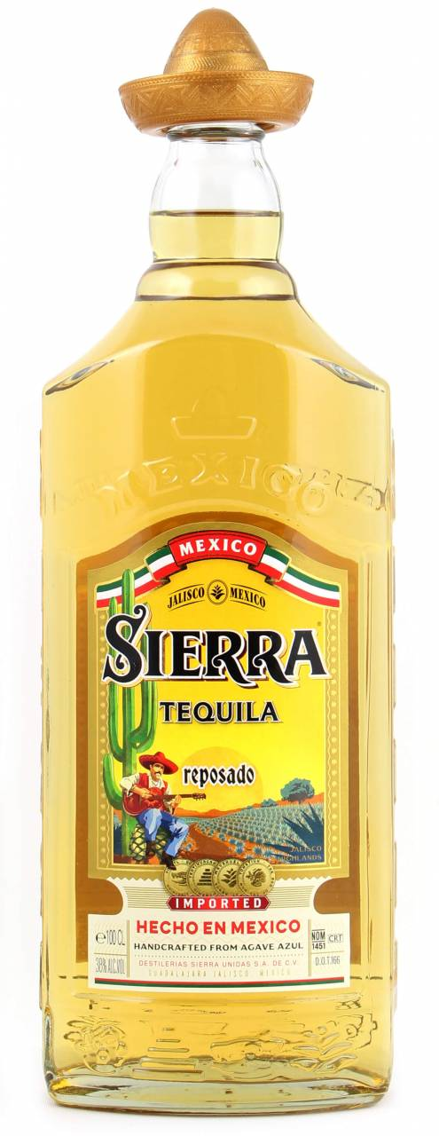Sierra Gold ReposadoTequila 1 Liter
