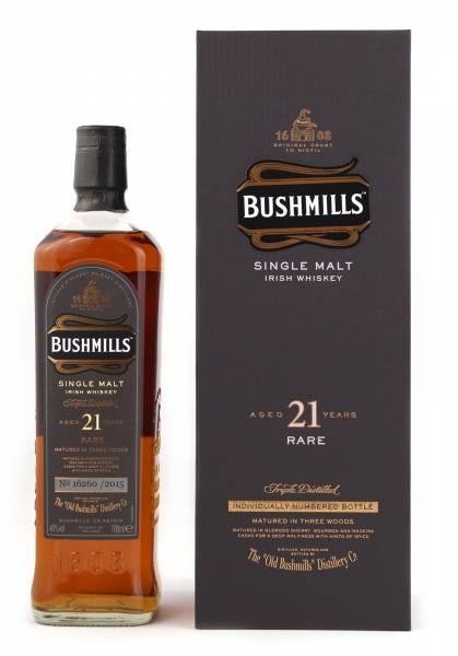 Bushmills 21 Jahre Three Woods 0,7 Liter