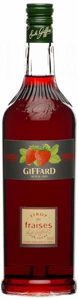 Giffard Sirup Erdbeere 1 Liter