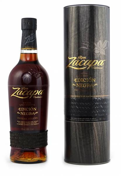 Ron Zacapa Edicion Negra Sistema Solera 0,7 Liter
