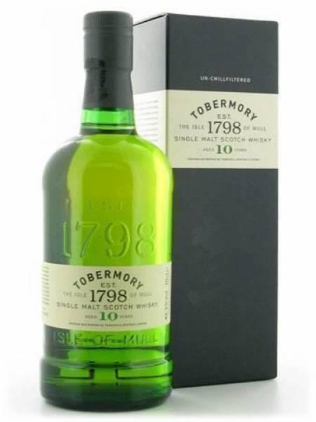 Tobermory 10 Jahre 0,7 Liter
