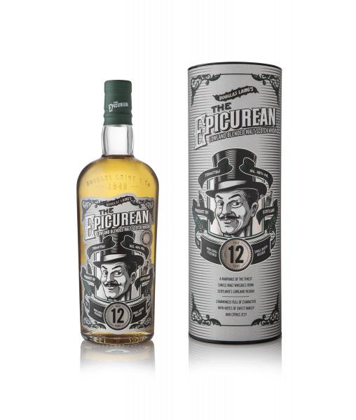 The Epicurean 12 Jahre -Lowland Blended Malt 0,7 Liter