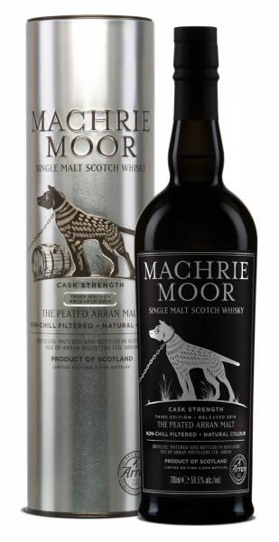 Arran Machrie Moor Cask Strength 3rd Edition 0,7 Liter
