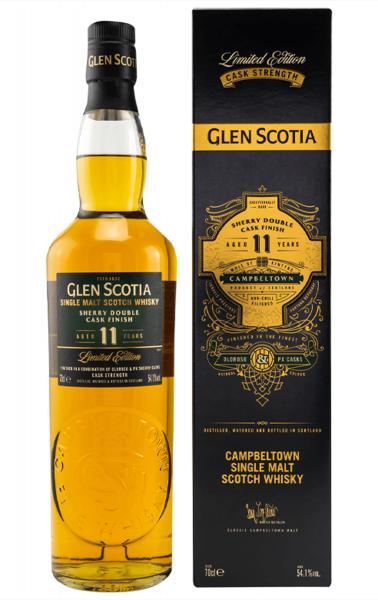 Glen Scotia 11 Jahre Sherry Double Cask Finish 54,1% 0,7l