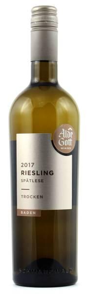 Alde Gott Riesling Spätlese trocken 0,75l