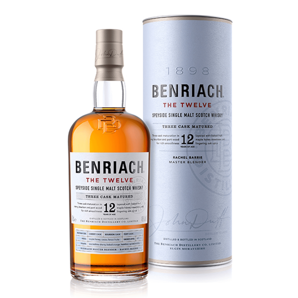 BenRiach THE ORIGINAL TWELVE 0,7 Liter
