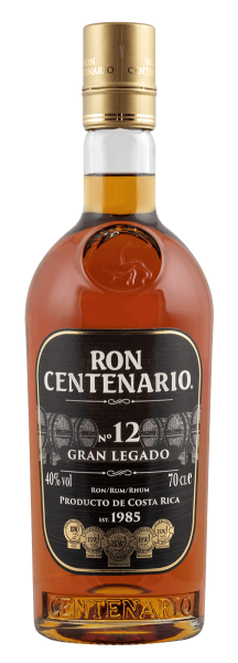 Ron Centenario Rum 12 Jahre Gran Legado 0,7 Liter