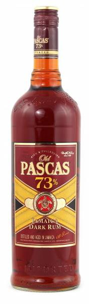 Old Pascas Very Old 73% Jamaica Rum 1,0 Liter
