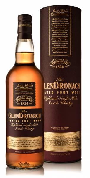 GlenDronach Peated Port Wood 46% 0,7l