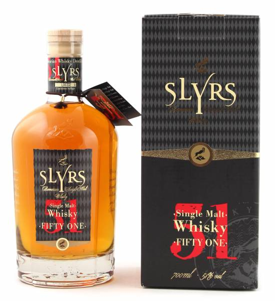 Slyrs 51 Fifty One Single Malt Whisky 0,7l