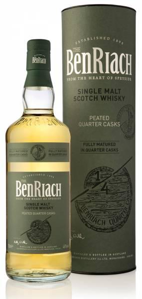 BenRiach Peated Quarter Cask 0,7 Liter *limitiert*
