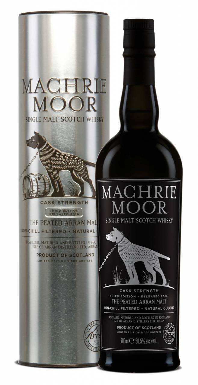 Arran Machrie Moor Cask Strength 3rd Edition 0,...