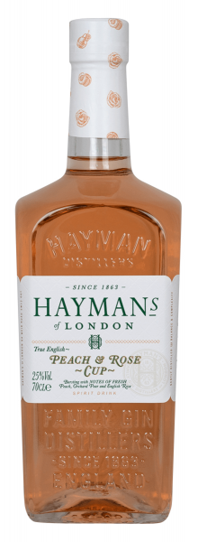 Hayman´s of London Peach & Rose Cup Gin 25 % 0,7 l