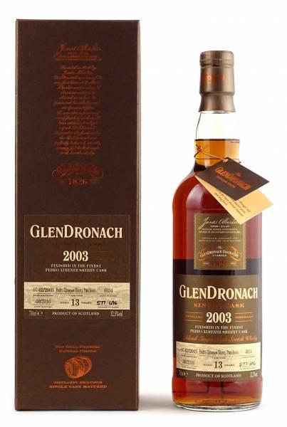 GlenDronach 2003 #4034 13 Jahre Batch 14 0,7 Liter