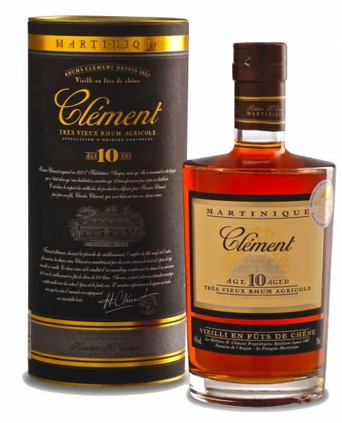 Clement Rum 10 Jahre 0,7 Liter
