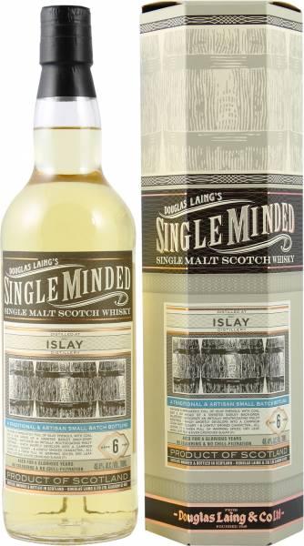 Douglas Laing's Single Minded Islay 6 Jahre 0,7 Liter
