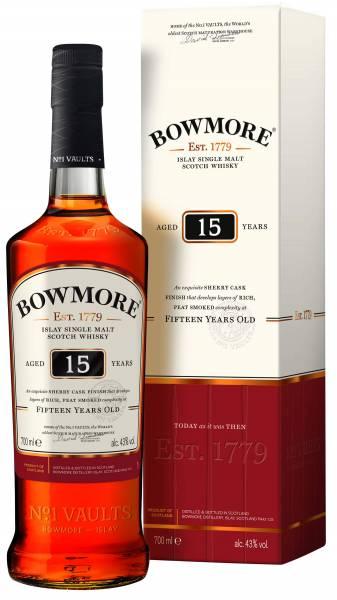Bowmore 15 Jahre 0,7 Liter