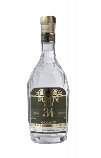 Purity Nordic Dry Organic Gin 43% 0,7 Liter