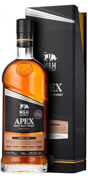 M&H Apex Small Batch Cognac Cask Finish 0,7 Liter