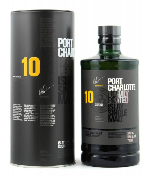Port Charlotte 10 Jahre Heavily Peated 0,7l