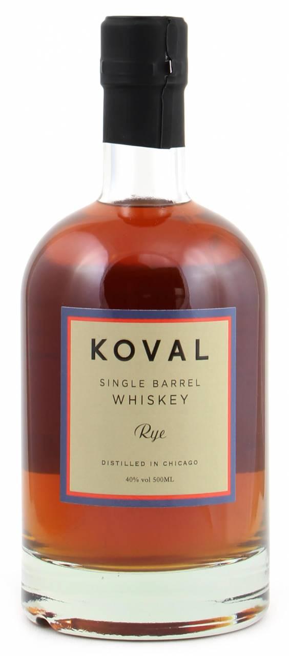 Koval Rye Whiskey Single Barrel 40% 0,5l