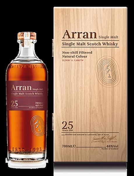 Arran 25 Jahre Single Malt Whisky 0,7l